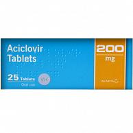 Ацикловир таблетки USP